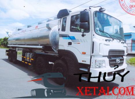 Hyundai bồn chở sữa 5 chân nhập khẩu