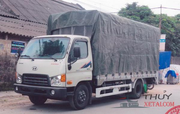 Xe tải Hyundai 3.5 tấn chở gia súc