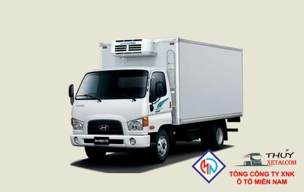 Xe tải Hyundai 3T9 thùng mui kín - New Mighty 75S