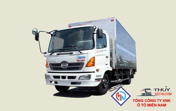 Xe tải Hino 5T4 thùng kín - FC9JLTA