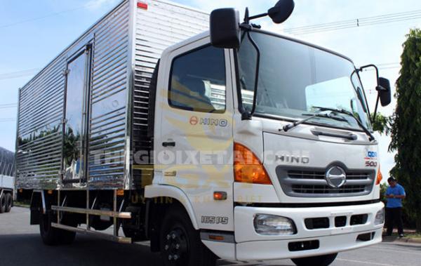 Xe tải Hino 6 tấn thùng kín - FC9JJTA
