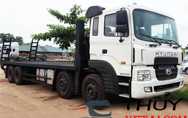 Hyundai 4 chân Nâng Đầu Chở máy công trình