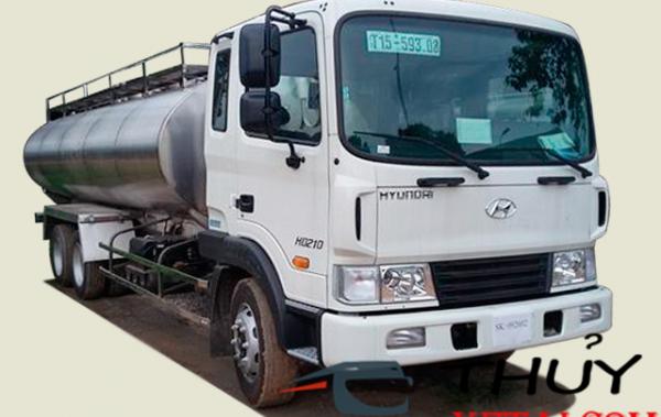 Hyundai Hd210 bồn chở sữa 13 khối