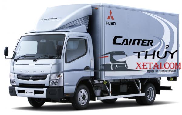 Xe Tải Fuso 2 tấn thùng kín nhập khẩu Nhật Bản
