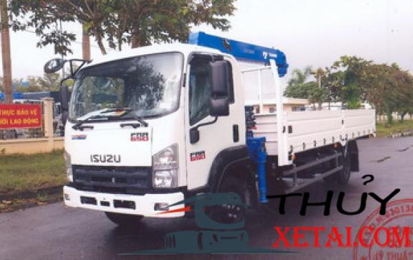 Isuzu 6 tấn gắn cẩu nhập khẩu