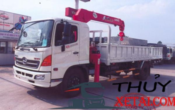 Hino Fg tấn gắn cẩu 5 tấn nhập khẩu