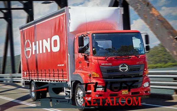Hino nhập khẩu 9 tấn 2019